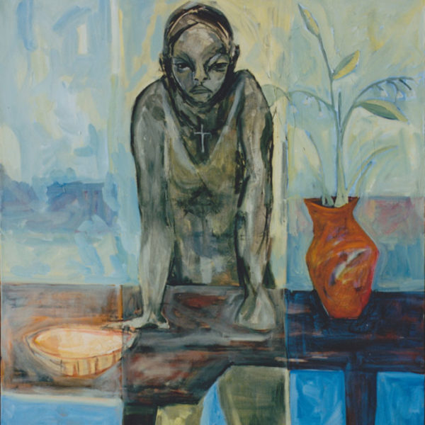 "Mad Mother, 1997, Oil on canvas, 36""x50"""